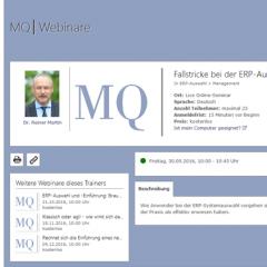 MQ-Webinare ERP